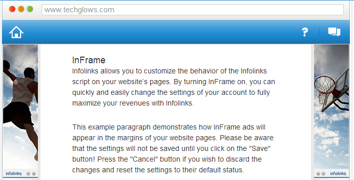 inframe infolinks ads