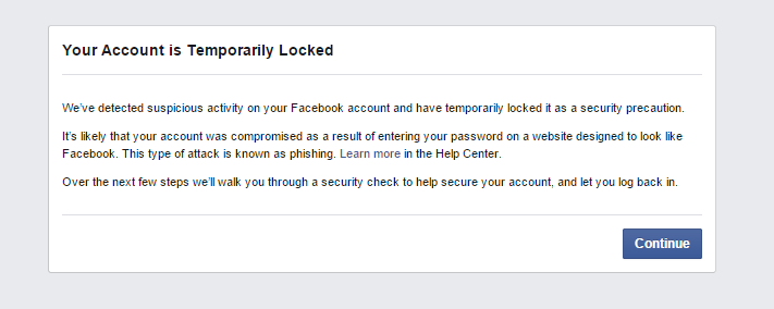 How to Fix Facebook If You Get Locked Out