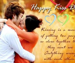 Happy Kiss Day Fb Messages, Whatsapp SMS, Quotes, Status 2015