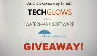 giveaway-watermark-software-tech-glows-