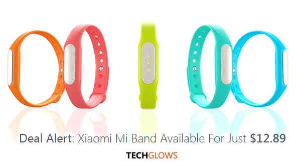 deal alert Xiaomi Mi Band Available For Just 12 dollars