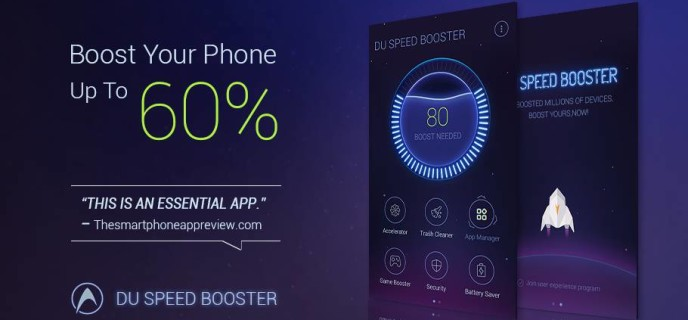 How to use DU Speed Booster to Speed up Your Android Phone