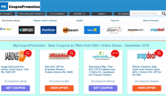 MyCouponPromotion : Best Coupons & Offers from 560+ Online Stores