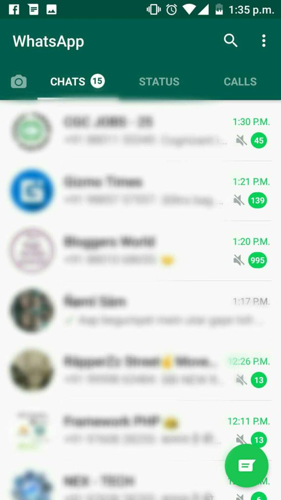 How to Get back Status Feature in WhatsApp