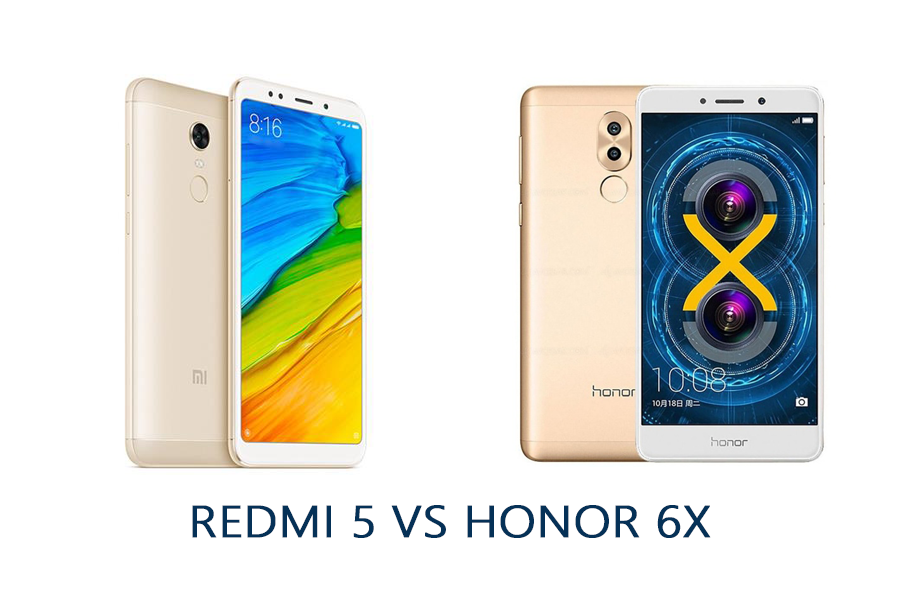 redmi5 vs honor 6x