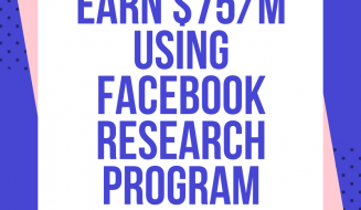 Facebook Research Program By Applause