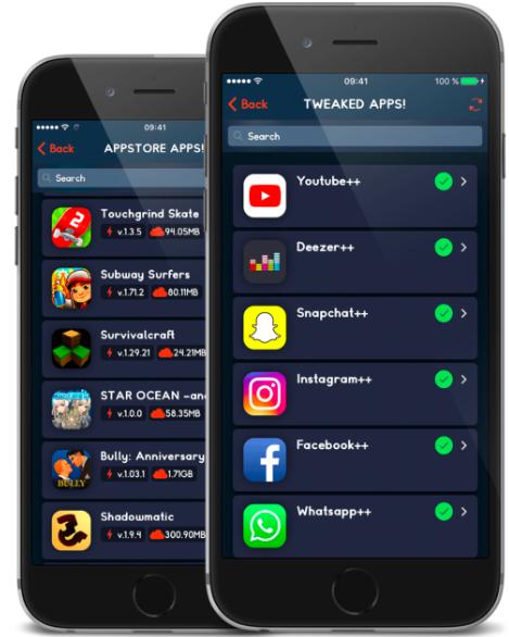 Installed TweakBox App on iOS
