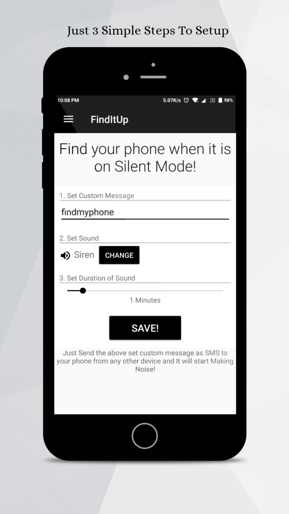 FindItUp - Find My Phone on Silent