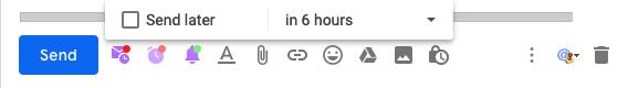 Snovio Schedule Emails