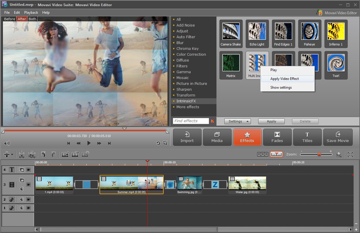 Create Professional Videos from home videos. Movavi Video Suite Review