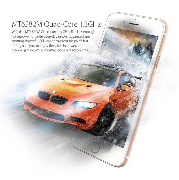 Blackview Ultra 2015 4.7 inch Android 4.4 3G Smartphone