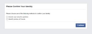 unlock facebook id