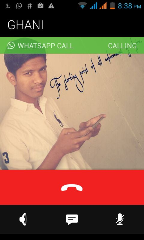 whatsapp voice calling feature get instantly without root.