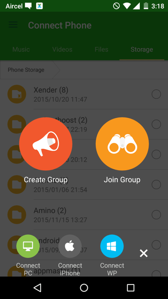 Xender Download for Pc Free App for Android (APK)