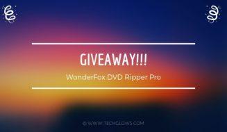 WonderFox DVD Ripper Pro giveaway
