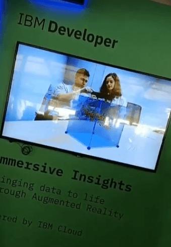 AR-based data visualization